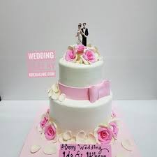 wedding cake tangerang sell 2 tiered wedding cake from indonesia by khena cake cheap price