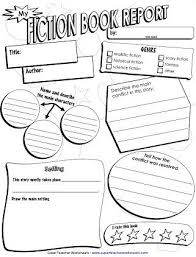 book report template 5th grade best 25 book report templates ideas on book review