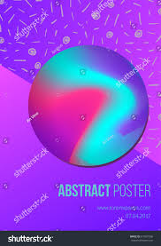 abstract poster modern style trends vector stock vector 617001068