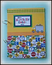 Book Birthday Card Birthday Card Keepsake Book Aftcra