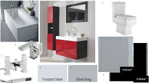 red bathroom decor wall decor ideas