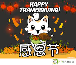thanksgiving in 2015 感恩节快乐 happy thanksgiving ninchanese