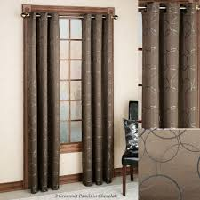 curtains sears drapes navy blue sheer curtains grommet
