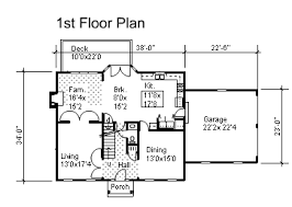 center colonial floor plan colonial home plans for sale original home plans
