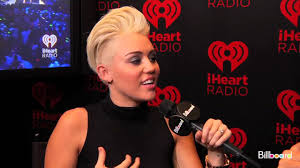 miley cyrus billboard interview at iheartradio 2012 youtube