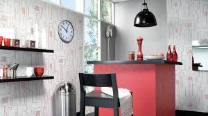 papier peint lessivable cuisine faut il oser le papier peint dans la cuisine