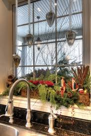 Kitchen Window Christmas Decorations by 629 Best Christmas Kitchen Images On Pinterest Christmas Kitchen