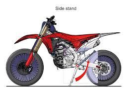 are motocross bikes street legal 2017 honda crf450rx dirt bike motorcycle engine frame