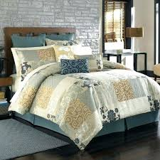 Blue And Brown Bed Sets Blue And Brown Bedroom Set 7 Modern Brown Teal Blue Patchwork