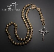 catholic communion gifts bronze serpent paracord rosary products