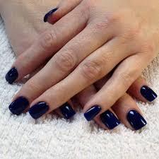 22 dark blue gel nail polish designs on natural nails nail art