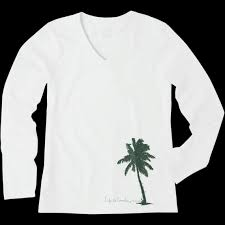 s palm tree with lights sleeve crusher vee is