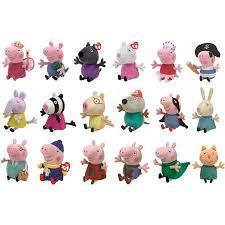Peppa Pig Plush Peppa Pig Plush Toys Assorted Big W