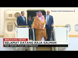 detik arab saudi saudi king reportedly sends 506 tons of luggage including two