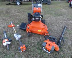 husqvarna w436 mower vanguard handhelds closeout package deal