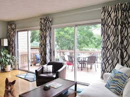for your sliding door and large living room window ideas for