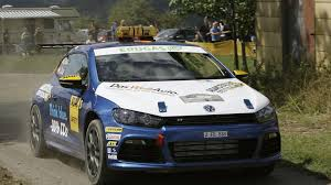 volkswagen scirocco r modified volkswagen scirocco r makes rally debut