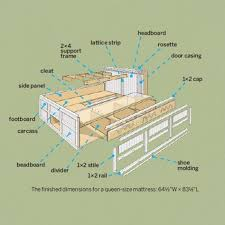 ana white build a full storage captains bed free and easy
