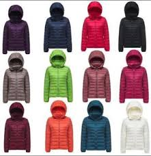 ultra light down jacket in a bag pocketable women ultra light down jacket short coat hoodie style