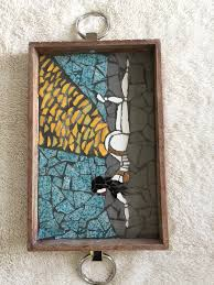 Unique Gifts Home Decor Trays Mosaic Tray Man Cave Decoration Kim Kardashian Pictures
