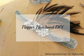 flapper headband diy flapper headband diy engineering in style