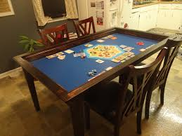 diy board game table furniture board game table awesome boardgametables custom built
