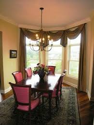 Bay Windows Furniture Ideas Furniture For Bay Window Design Ideas - Dining room with bay window