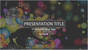 free music powerpoint template 7934 13929 free powerpoint