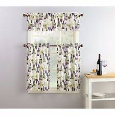 Grape Kitchen Curtains Cafe Curtains Interiors By Design Tuscan Olives Window Tiers