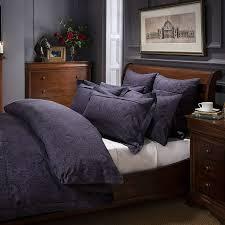 dorma paisley navy duvet cover and pillowcase set navy bedding