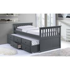 broyhill kids marco island captains bed with trundle and diy dr