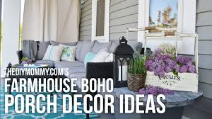 farmhouse boho diy porch decor ideas our 2016 porch tour youtube
