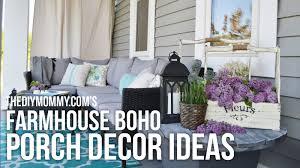 Boho Bedroom Ideas Farmhouse Boho Diy Porch Decor Ideas Our 2016 Porch Tour Youtube