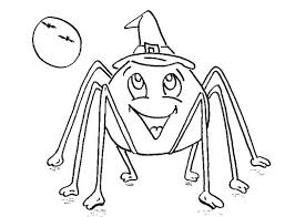Spider Coloring Page Six Cute Spider On Spider Web Coloring Page Web Coloring Pages