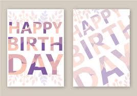 happy birthday card free vector art 12439 free downloads