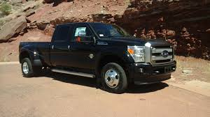 Ford F350 4x4 Trucks - 16 ford f350 crew 4x4 drw black platinum diesel