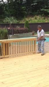 sliding deck gate youtube decks pinterest deck gate