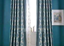 Leaf Pattern Curtains Blue Curtains Living Room Fionaandersenphotography Co