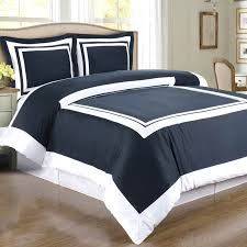 Plain White Comforters Simple Guest Room Design With Modern Navy White Twin Xl Duvet