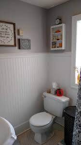 Wainscoting Ideas Bathroom by Bathroom Wall Angieus List How Wainscoting Bathroom Tile High