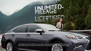 lexus toronto lease l certified by lexus commercial u201cunlimited u201d 1 youtube