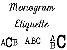 stacked monogram monogram etiquette tips and tricks for monograms