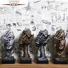 Statues For Home Decor by Popular Sculpture Statue Buy Cheap Sculpture Statue Lots From
