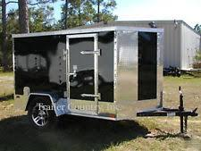 Cargo Trailer Awning Motorcycle Trailers Enclosed Pull Behind Camper Ebay