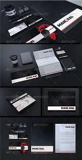 Adobe Illustrator Business Card Template With Bleed 27 Best Creative Corporate Identity Images On Pinterest Print