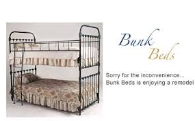 IRON BUNK BEDS The American Iron Bed Co - Vintage bunk beds