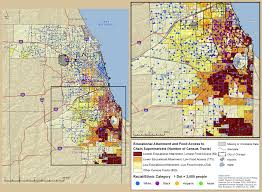 University Of Chicago Map by Geospatial Analysis By Geohealth Innovations Focuses On Food