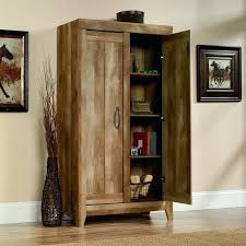 sauder homeplus basic storage cabinet dakota oak sauder homeplus storage cabinet sienna oak finish pantry at d home