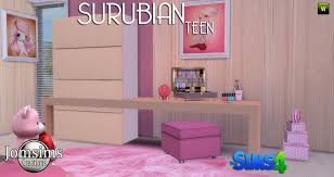 Fashion Bedroom Teen Bedroom Sims 4