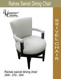 Swivel Dining Chair Custom Designs